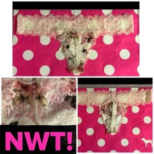 NWT! PINK 5-PACK THONG PANTY BUNDLE